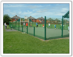 Stubshaw Cross Park - Enclosed Play Area